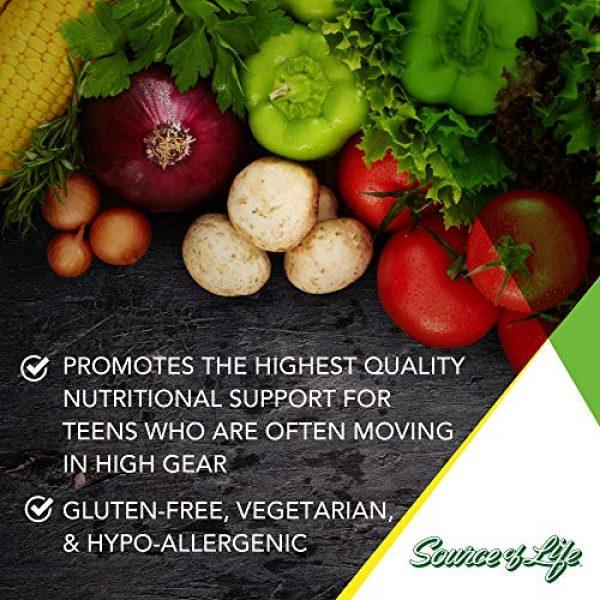 Nature's Plus Calcium Supplement 3 NaturesPlus Source of Life Garden Certified Organic Calcium with AlgaeCal - 1000 mg, 120 Vegan Capsules - Plant-Based Bone Health Support Supplement - Vegetarian, Gluten-Free - 30 Servings