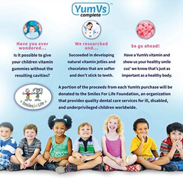 YUM-V'S Calcium Supplement 3 Calcium with Vitamin D3 Gummies by YumV's   Daily Dietary Supplement for Adults and Kids   Calcium 500mg + Vitamin D 1000IU   Natural Orange & Strawberry Flavor Gummies, 60-Count   Kosher