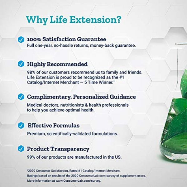 Life Extension Calcium Supplement 4 Life Extension Dr. Strum's Intensive Bone Formula, 300 Capsules
