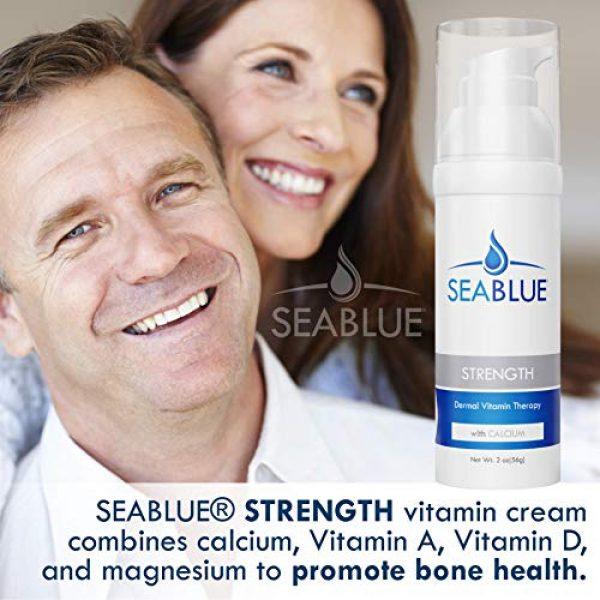 Seablue Calcium Supplement 2 Calcium Magnesium Lotion Skin Vitamins - Bone Strength by SeaBlue, 1.6 Oz.