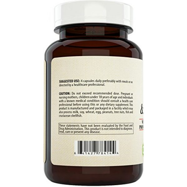 Nature's Potent Calcium Supplement 3 Calcium Magnesium Supplement with Vitamin D, Boron - Providing 10 Forms of Calcium, 120 (Capsules)