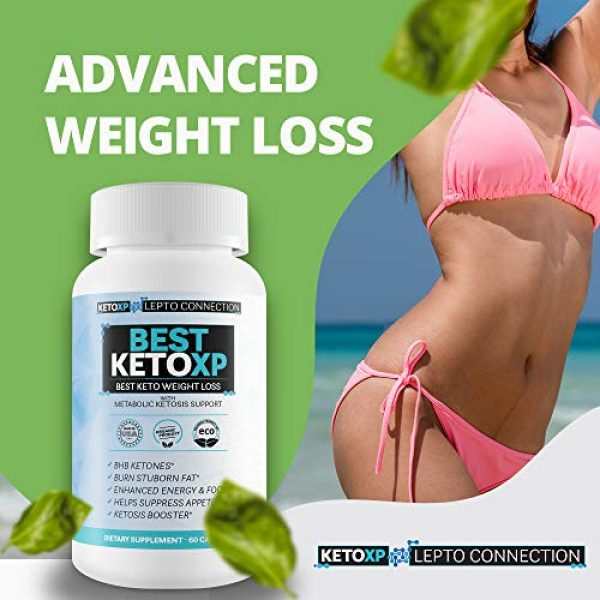 Keto XP Lepto Connection Calcium Supplement 5 Best Keto XP - Best Keto Weight Loss - Bhb Keto Accelerator for Faster Ketosis and Faster Fat Burn - Best Keto Pills That Work for Weight Loss - Best Keto Pills for Women Weight Loss