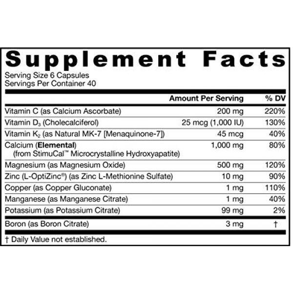 Jarrow Formulas Calcium Supplement 4 Jarrow Formulas Bone-up, Promotes Bone Density, 240 Capsules