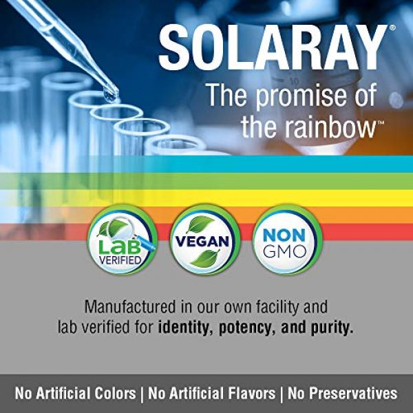 Solaray Calcium Supplement 4 Solaray Cal-Mag Citrate Capsules with Vitamin D 2:1 Ratio, 180 Count