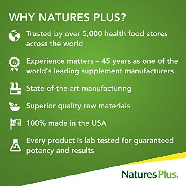 Nature's Plus Calcium Supplement 5 NaturesPlus Source of Life Garden Certified Organic Calcium with AlgaeCal - 1000 mg, 120 Vegan Capsules - Plant-Based Bone Health Support Supplement - Vegetarian, Gluten-Free - 30 Servings