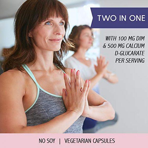 Emerita Calcium Supplement 3 Emerita® DIM Formula with Calcium D-Glucarate   Women Health & Dietary Supplement   Optimal Balance Nutritive Support   60 Soy-Free Vegetarian Caps