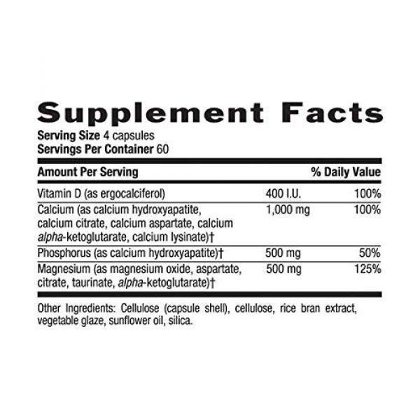 Country Life Calcium Supplement 4 Country Life, Calcium Magnesium, w/Vitamin D Complex, 240 Veggie Caps