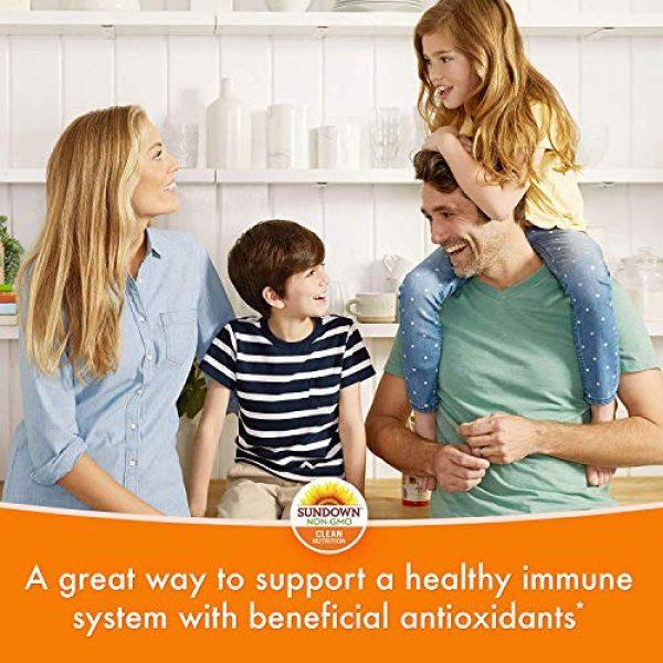 Sundown Calcium Supplement 4 Sundown Calcium 1200 Plus Vitamin D3 1000 IU, 170 Liquid Filled Softgels