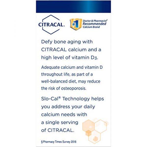 CITRACAL Calcium Supplement 4 Citracal Calcium + D SLW Size 80ct Citrical Calcium + D 80ct