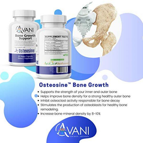Avani Health Calcium Supplement 5 Avani Health - Osteosine Bone Growth Support - Increase Bone Calcium Levels and Bone Strength - Enhanced Absorption with BioPerine and AstraGin - Gluten Free Bone Supplement - 30 Vegan Capsules