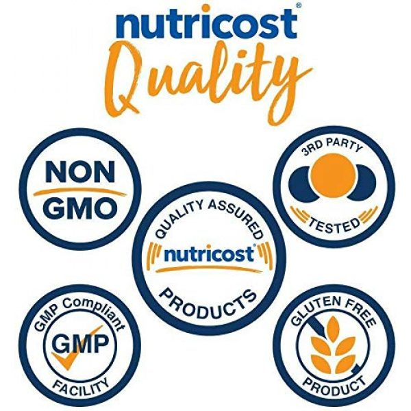 Nutricost Calcium Supplement 6 Nutricost HMB Powder (Beta-Hydroxy Beta-Methylbutyrate) 250 Grams - Gluten Free & Non-GMO