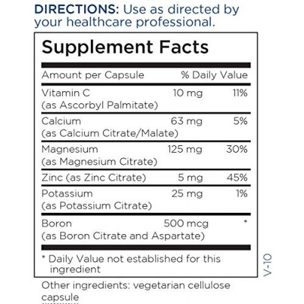 Metabolic Maintenance Calcium Supplement 5 Metabolic Maintenance Cal Mag 1:2 - Highly Bioavailable Calcium Citrate Malate Supplement with Magnesium, Boron + Zinc - Minerals for Bone + Heart Support, No Fillers (120 Capsules)