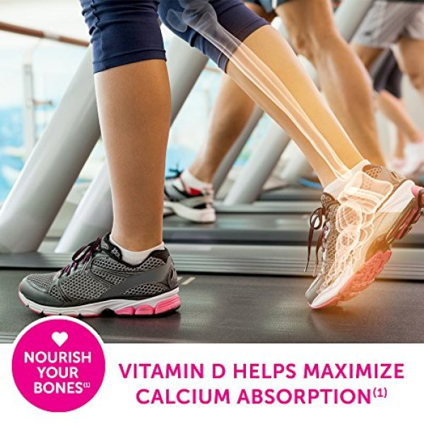 Caltrate Calcium Supplement 4 Caltrate 600+D3 Calcium and Vitamin D Supplement Tablet for maximum calcium absorption, 600 mg -200 Count