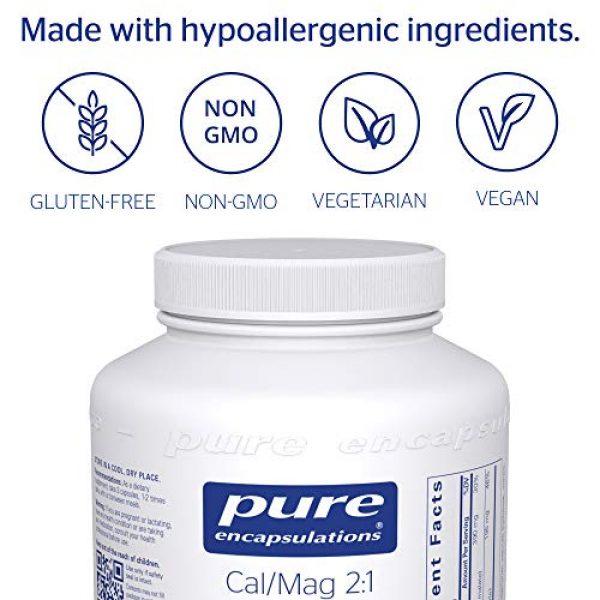 Pure Encapsulations Calcium Supplement 4 Pure Encapsulations - Cal/Mag (Malate) 2:1 - Hypoallergenic Calcium and Magnesium Supplement in a 2-to-1 Ratio - 180 Capsules