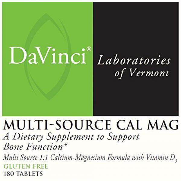 DaVinci Laboratories of Vermont Calcium Supplement 2 Davinci Labs- Multi-source Cal Mag 180 Tabs