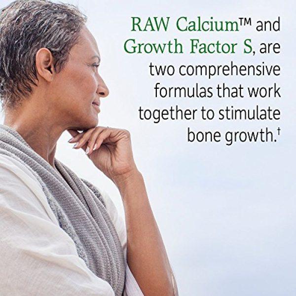 Garden of Life Calcium Supplement 4 Garden of Life Raw Calcium Supplement - Grow Bone System Whole Food Vitamin with Strontium, Vegetarian