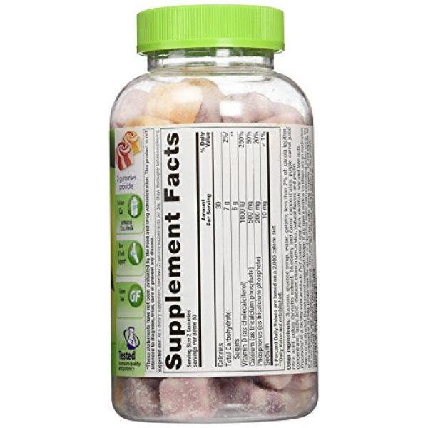 Vitafusion Calcium Supplement 2 VitaFusion Calcium with Vitamin D3 - 2 100 Count Bottles - 200 Gummies Total
