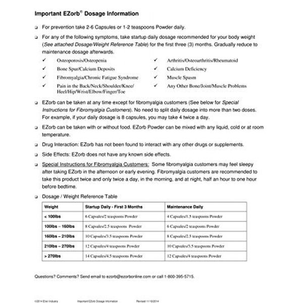 Ezorb Calcium Supplement 4 Ezorb Calcium 100g Powder for Bone, Joint, Muscle Health