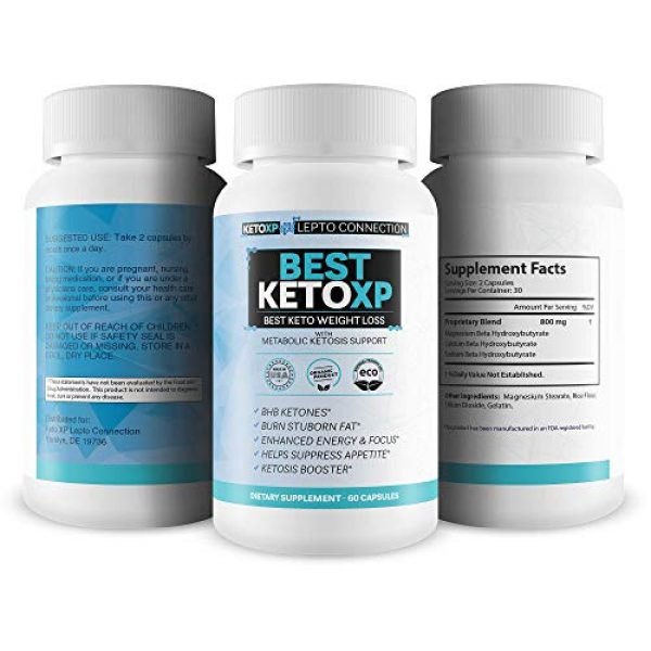 Keto XP Lepto Connection Calcium Supplement 4 Best Keto XP - Best Keto Weight Loss - Bhb Keto Accelerator for Faster Ketosis and Faster Fat Burn - Best Keto Pills That Work for Weight Loss - Best Keto Pills for Women Weight Loss