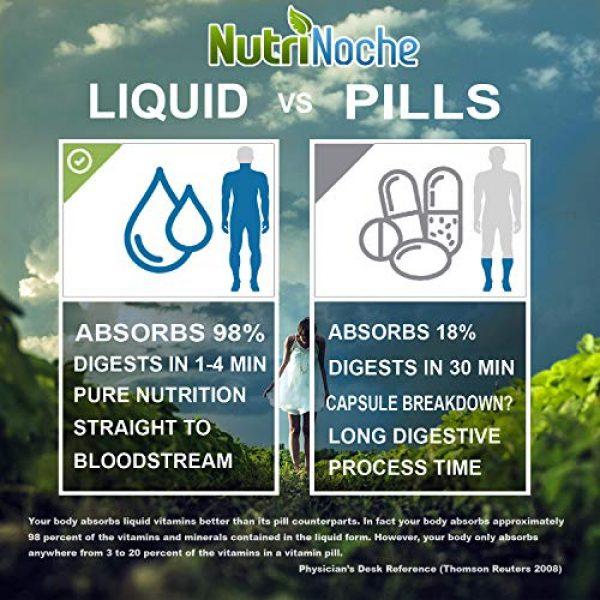 NutriNoche Calcium Supplement 6 NutriNoche Best Calcium Supplement -Natural Formula, Essential Support for Strong Bones & Teeth