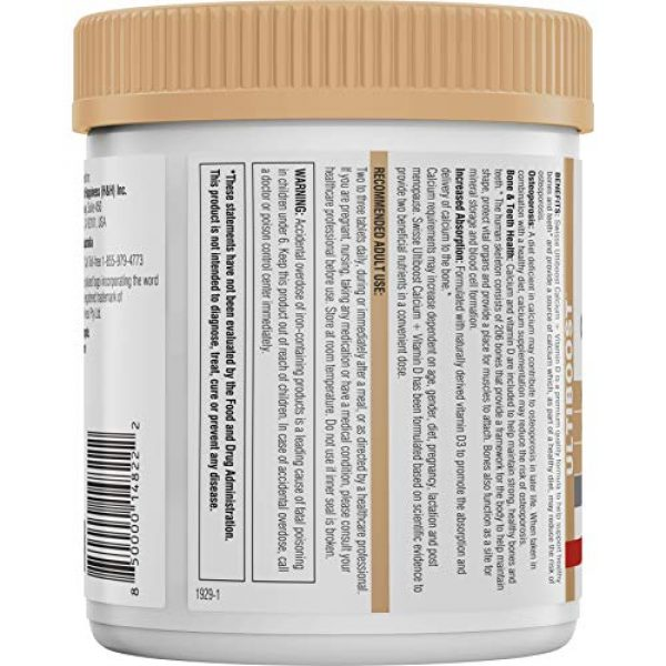Swisse Calcium Supplement 2 Swisse Ultiboost Calcium with Vitamin D |Bone Strength Support & Promotes Healthy Teeth | Plus Vitamin D for Absorption | 250 Tablets (9311770600460)