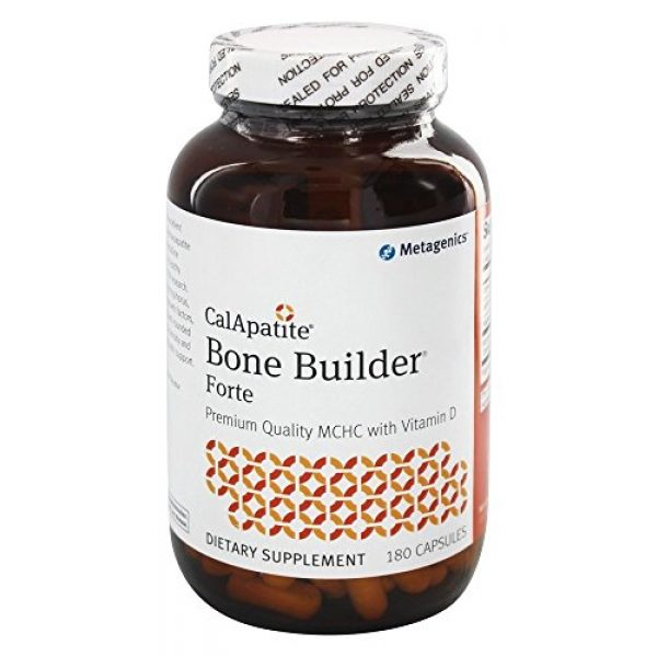 Metagenics Calcium Supplement 1 Metagenics- Cal Apatite Bone Builder Forte, 180 Capsules