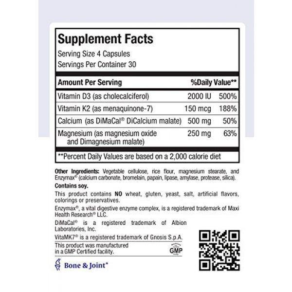 Maxi Health Calcium Supplement 4 Maxi Health Cal Mag K-d, 120 Count