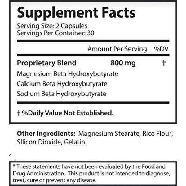 Keto 21 Calcium Supplement 5 Keto Fit - Keto Weight Loss - Burn Fat - Increase Energy - Balance Hormones - Help to induce Ketosis Faster to Start Burning Fat Sooner! Feel The Power of Keto Weight Loss!