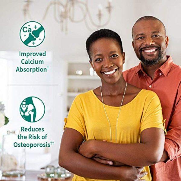 Garden of Life Calcium Supplement 2 Garden of Life Dr. Formulated Stronger Bones, Organic Calcium Supplement with Vitamin D & Vitamin K for Bone Health, Bone Strength, Osteoporosis Supplements for Women & Men, 150 Vegetarian Tablets
