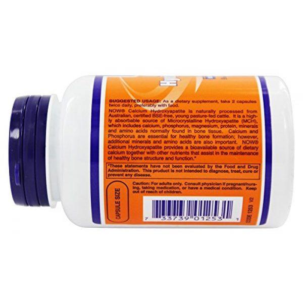 Now Foods Calcium Supplement 4 NowFoods Calcium Hydroxyapatite Caps 120 Capsules