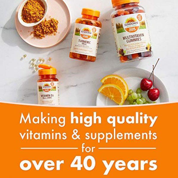 Sundown Calcium Supplement 6 Sundown Calcium 1200 Plus Vitamin D3 1000 IU, 170 Liquid Filled Softgels