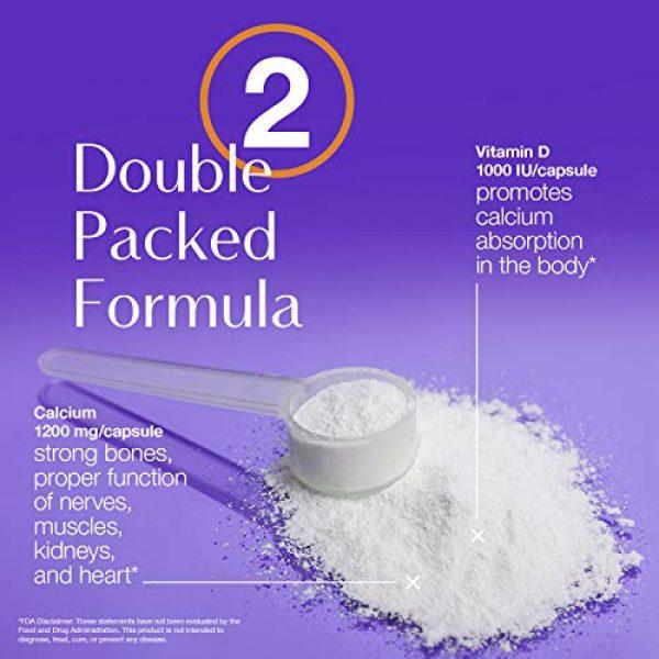 Neoflex Calcium Supplement 7 Neoflex Calcium + Vitamin D Dietary Supplement, Bone & Joint Health Supplement, 180 Capsules