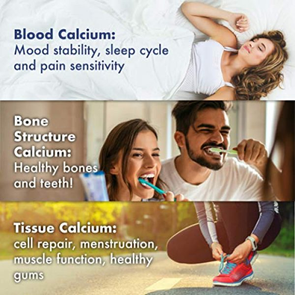Sunshine Vitamins Calcium Supplement 5 Sunshine Vitamins Instant Cal Mag C - Calcium, Magnesium and Vitamin C for Better Sleep and Less Stress - Feel Calm and Relaxed - Super Fast Absorption to Blood, Muscles & Bones