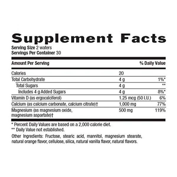 Country Life Calcium Supplement 2 COUNTRY LIFE Vitamins Cal MAG CHEW,VANL/Orange, 60 CHEW