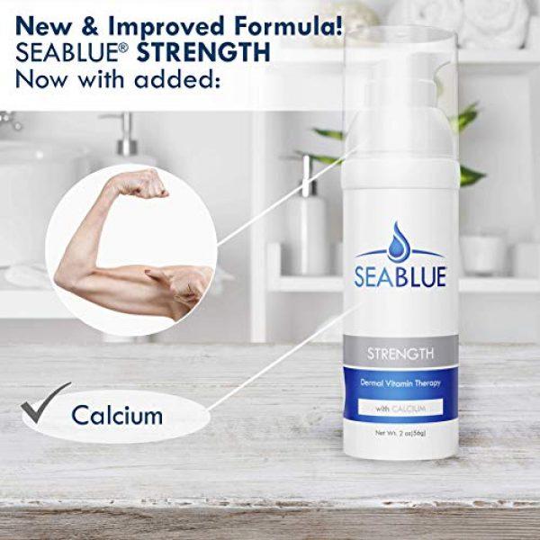 Seablue Calcium Supplement 3 Calcium Magnesium Lotion Skin Vitamins - Bone Strength by SeaBlue, 1.6 Oz.