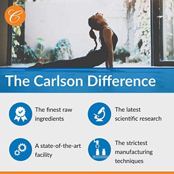Carlson Calcium Supplement 6 Carlson - Cal-Mag Gels, 2:1 Calcium to Magnesium Ratio, Calcium Magnesium Supplement & Vitamin D, 200 mg Calcium Supplement, 100 mg Magnesium Supplement, Bone Support, Energy Production, 250 Softgels