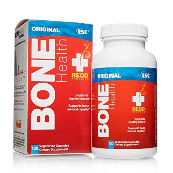 Redd Remedies Calcium Supplement 5 Redd Remedies, Bone Health Original, Supports Bone Mineral Density, 120 Capsules