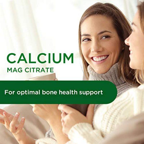Ultra Botanicals Calcium Supplement 3 Emerald Labs Calcium Magnesium Citrate with 1,200 IU Vitamin D for Bone Support, Helps Maintain Immune System Health - 180 Capsules