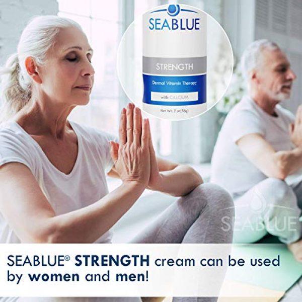 Seablue Calcium Supplement 5 Calcium Magnesium Lotion Skin Vitamins - Bone Strength by SeaBlue, 1.6 Oz.