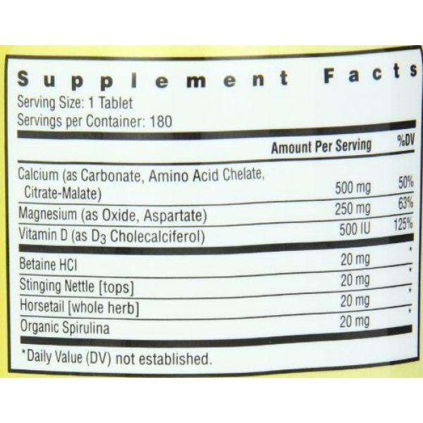 Rainbow Light Calcium Supplement 6 Rainbow Light, Food-Based Calcium, 180 Count (Pack of 2)