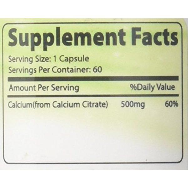 Lyfetrition Calcium Supplement 4 Lyfetrition Calcium Citrate 60 Capsule Made in USA