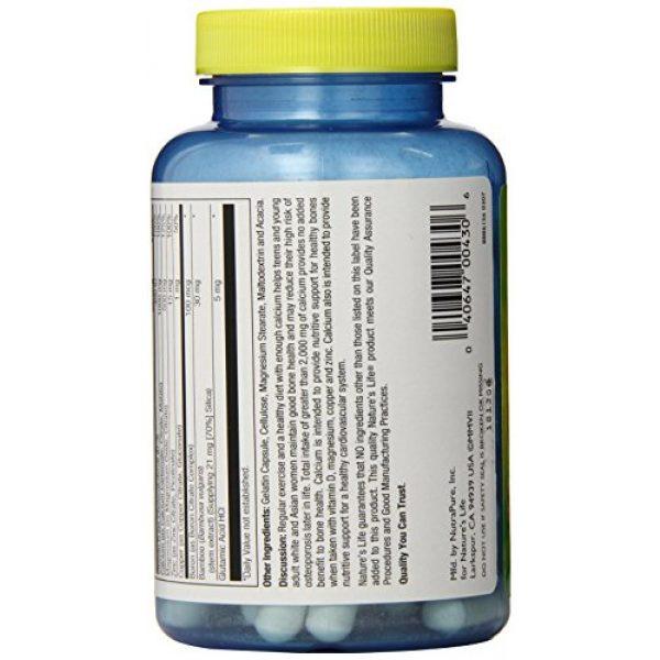 Nature's Life Calcium Supplement 3 Nature's Life Cal/Mag/Zinc Capsules, 1000/500/15 Mg, 100 Count