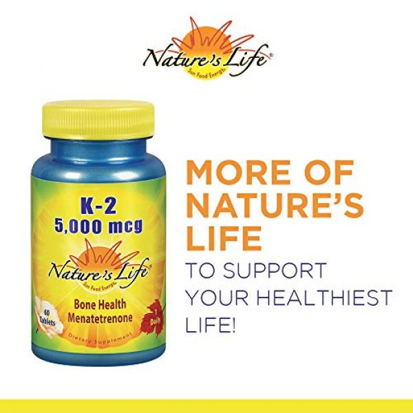 Nature's Life Calcium Supplement 6 Natures Life Super Cal Mag 1000mg of Calcium & 500mg of Magnesium with Vitamin D-2 ,250 Vegetarian Tablets