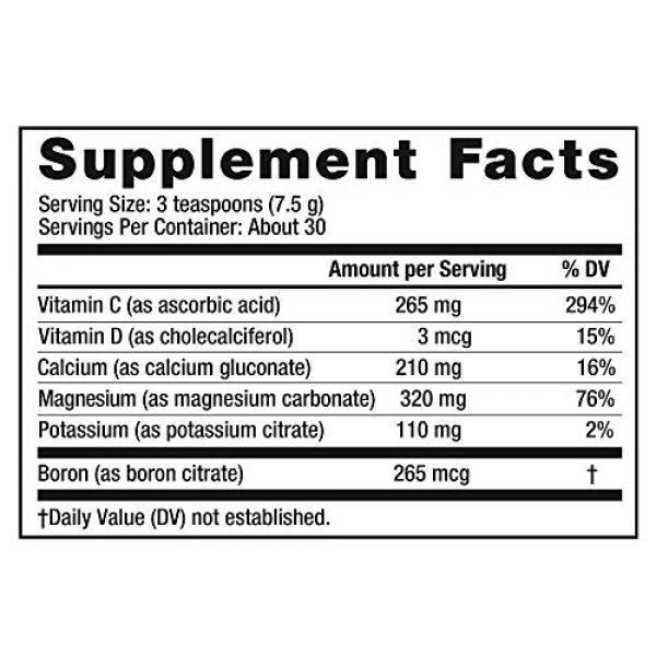 Natural Vitality Calcium Supplement 4 Natural Vitality Calm PLUS Calcium Supplement Powder, Raspberry Lemon- 8 ounce (Packaging May Vary)