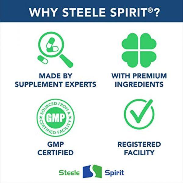 Steele Spirit Calcium Supplement 6 Multimineral with 1000mg Calcium Magnesium Zinc D3