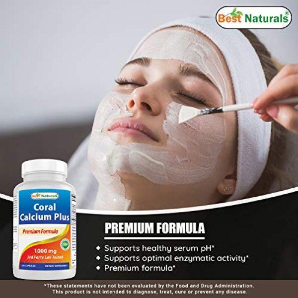 Best Naturals Calcium Supplement 4 Best Naturals Coral Calcium Plus 1000 mg 250 Capsules