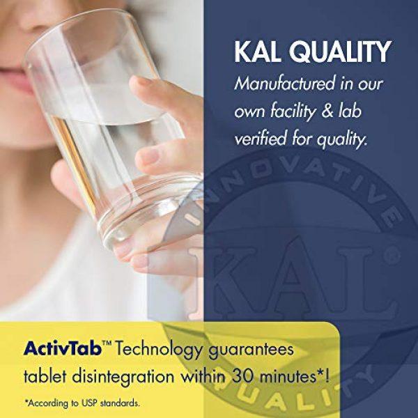 KAL Calcium Supplement 4 KAL Extra Strength Calcium Magnesium Tablets, 250 Count