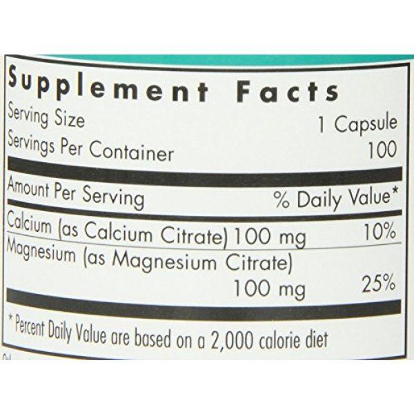 Nutricology Calcium Supplement 3 NutriCology Calcium Magnesium Citrate 100 Vegetarian Capsules