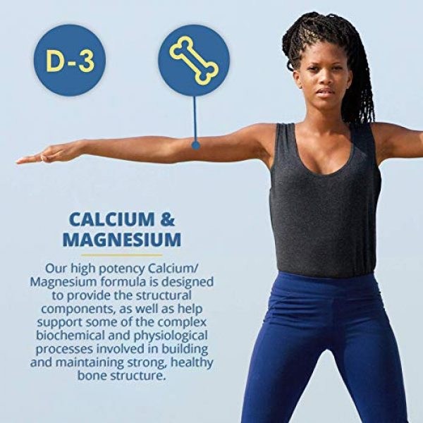 Vitamin Discount Center Calcium Supplement 5 Vitamin Discount Center Calcium and Magnesium High Potency, 100 Tablets
