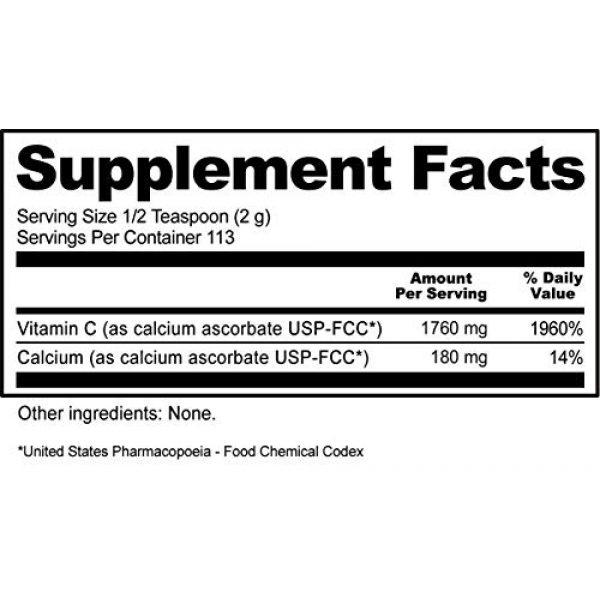 Nutribiotic Calcium Supplement 4 Nutribiotic Calcium Ascorbate Powder, 8 Oz